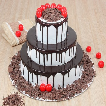 3 Tier Blackforest Cake