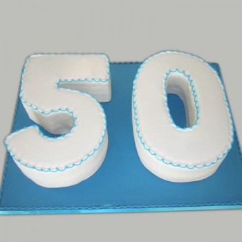 50 Number Cake