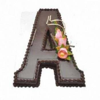 A Alphabet Cake