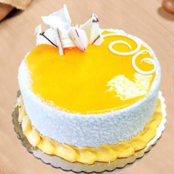 Buttery Mango Cake