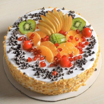 Choco Chip Fruit Cake