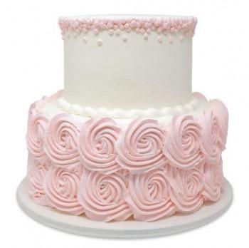 Elegant 2 Tier Theme Cake