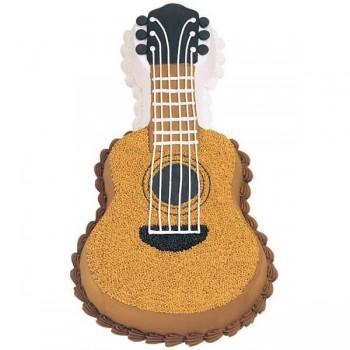 Guitar Design Shape Cake