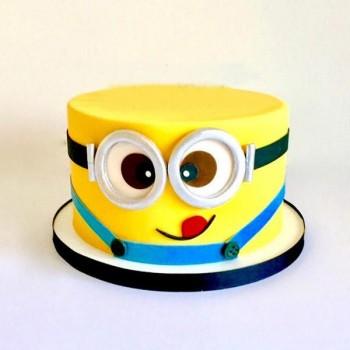 Adorable Minion Cake