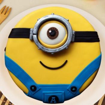 Yellow Dangri Minion Cake