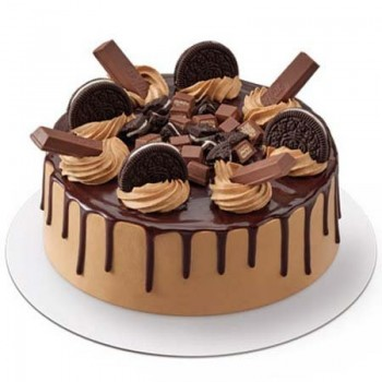1 Kg Oreo Kitkat Cake