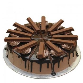 Kitkat Choco Vanilla Cake