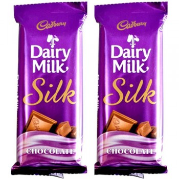 2 Silk Chocolates
