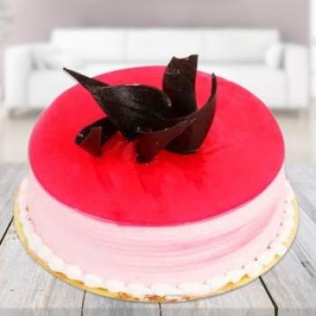 Strawberry SugarFree Cake 1Kg