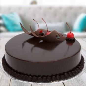 Sugar Free Truffle Cake For Dad