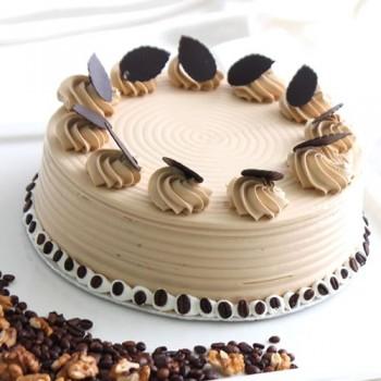 Eggless Sugarfree Coffee Cake