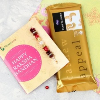 Rakhi with Temptation Chocolate