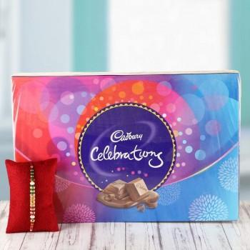 Rakhi with Cadbury Celebration
