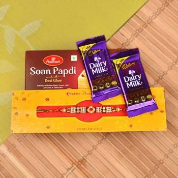 Rakhi, Chocolates and Soan Papdi