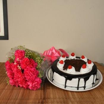 Pink Carnation n Blackforest