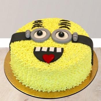 Minion Cream Cake