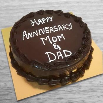 Sugarfree Anniversary Cake
