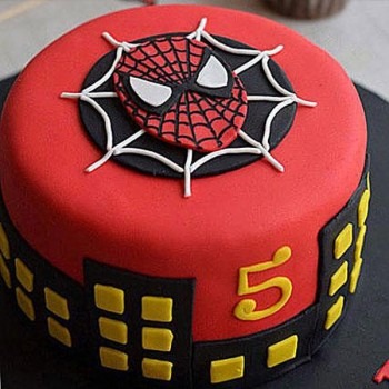 Awesome Spiderman Cake