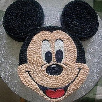 Funny Mickey Mouse Cake