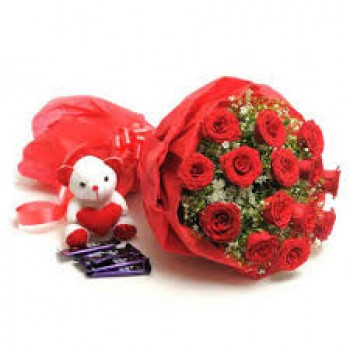 Red Roses Combo