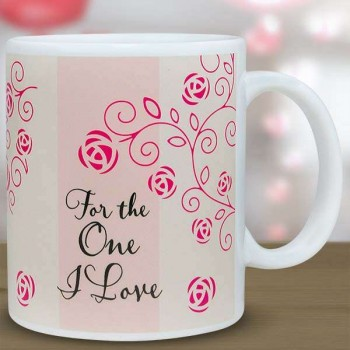 For the One I Love Mug